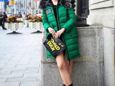 羊毛大衣綠色 分分鐘變身所有人的焦點